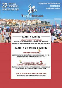 Affiche programme Fête des Vendanges2
